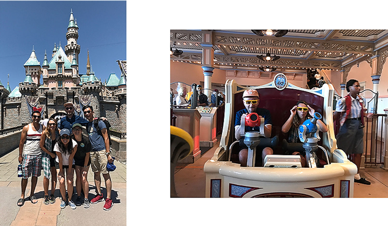 Team Thousand at Disney