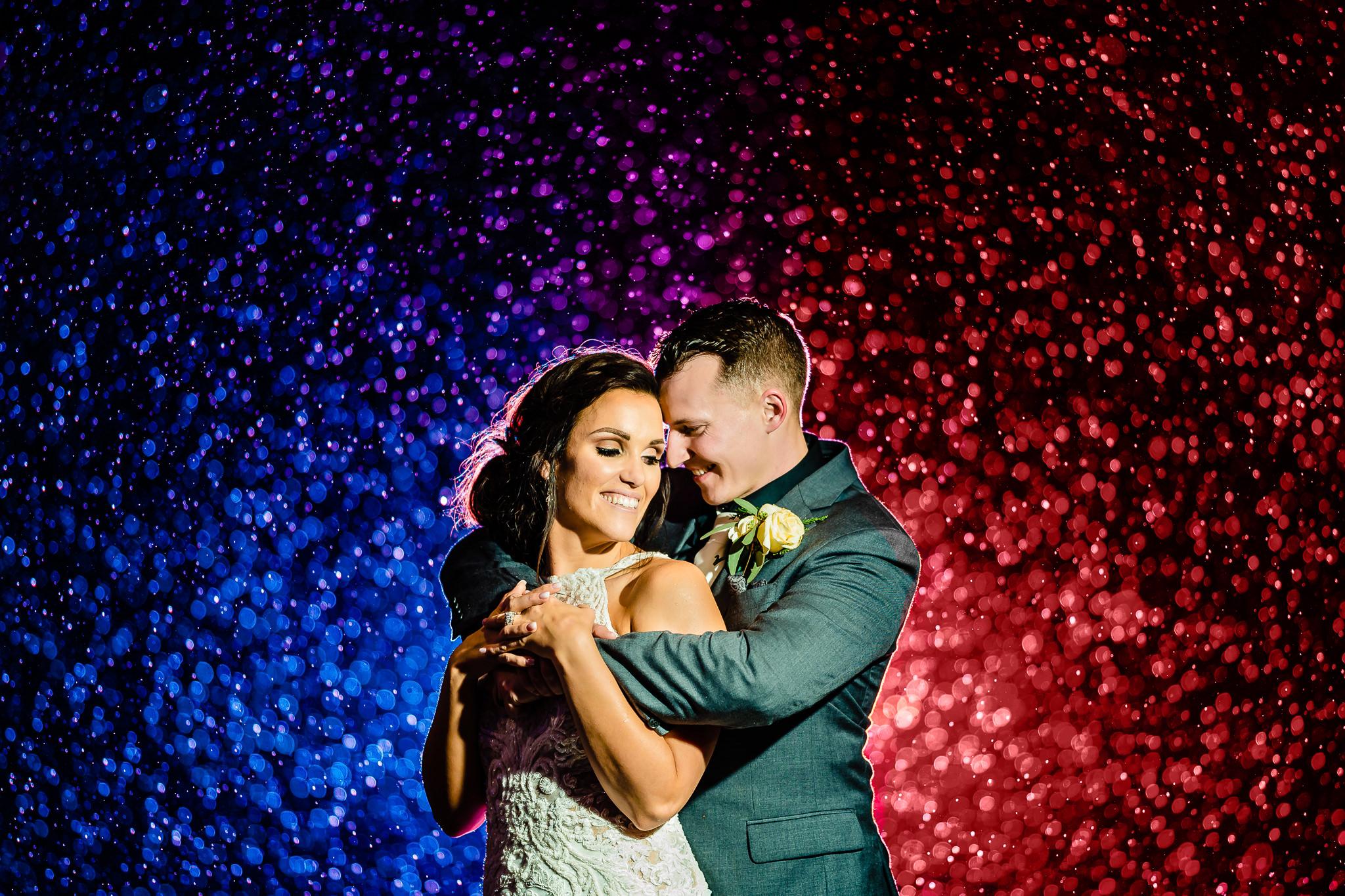 SMJ Photography, Wedding Photography, Husband and WIfe Wedding Photo, High Contrast Photography, Colorful Wedding Photographer