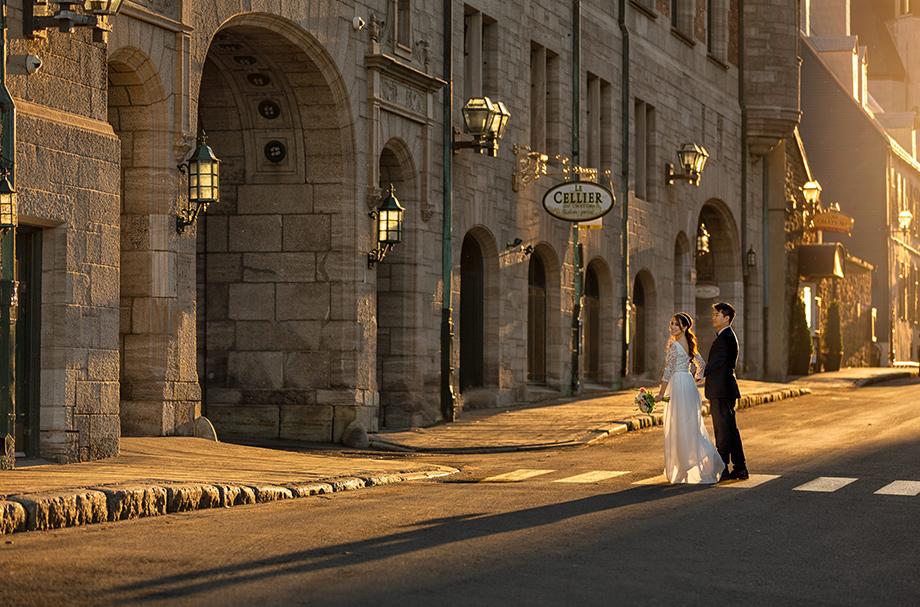 Betty Ma, Luxury Moment Photography, Wedding Photography, Fine-Art Photography, Sunny Street, Bride and Groom, City Wedding Photo