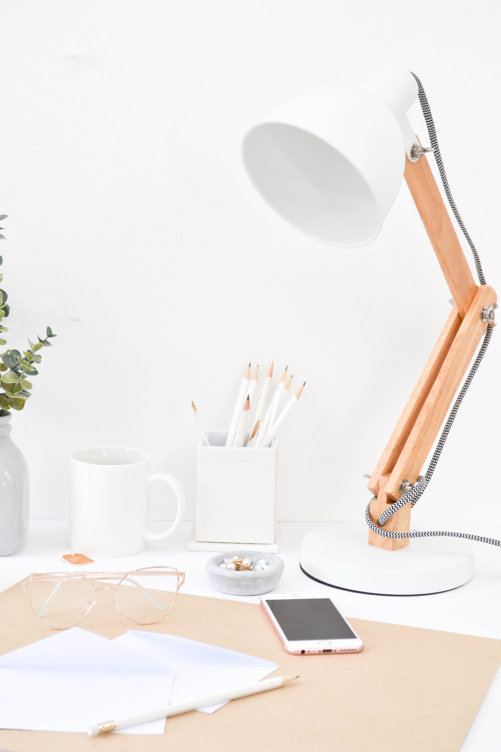 desk, lamp, simple, how to generate income during your slow season, photography
