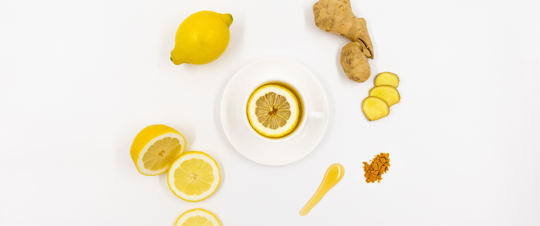Lemons and ginger