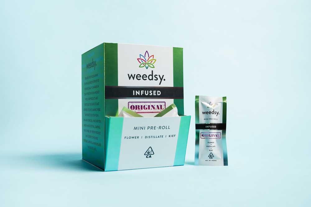 Weedsy Original Infused Pre-Roll box