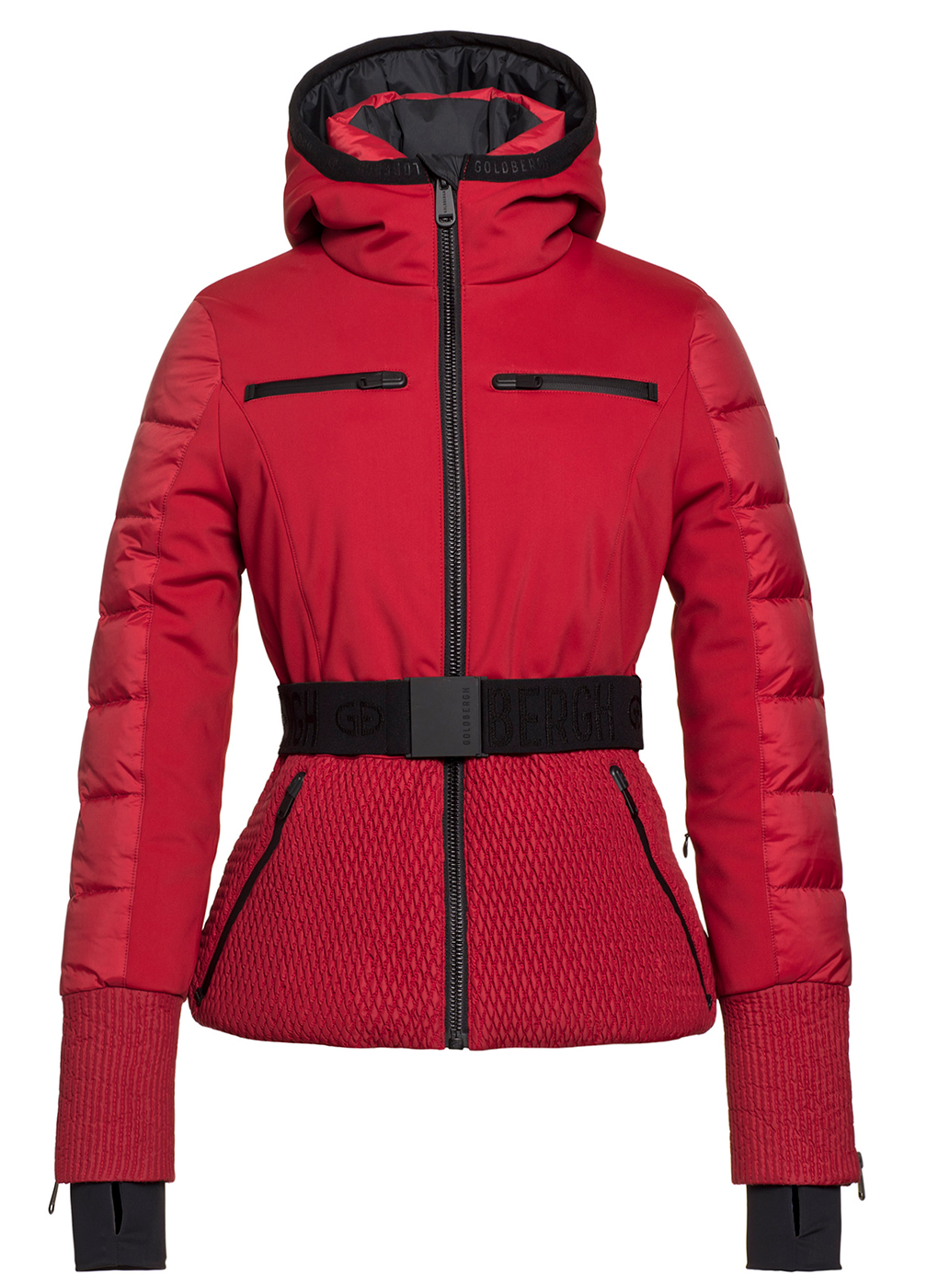 Stylish Red Ski Jacket by Goldbergh
