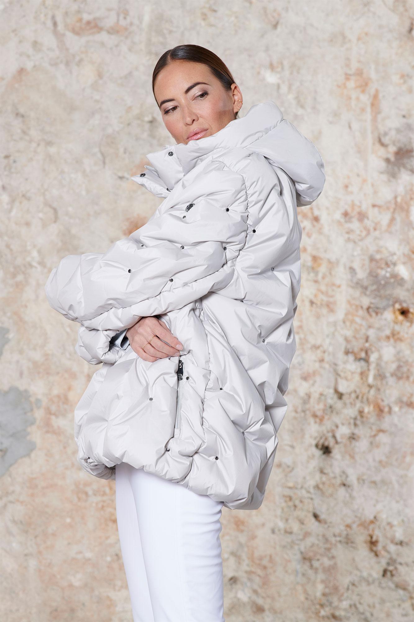 Poivre Blanc Gothic Blue Ski Jacket for Women