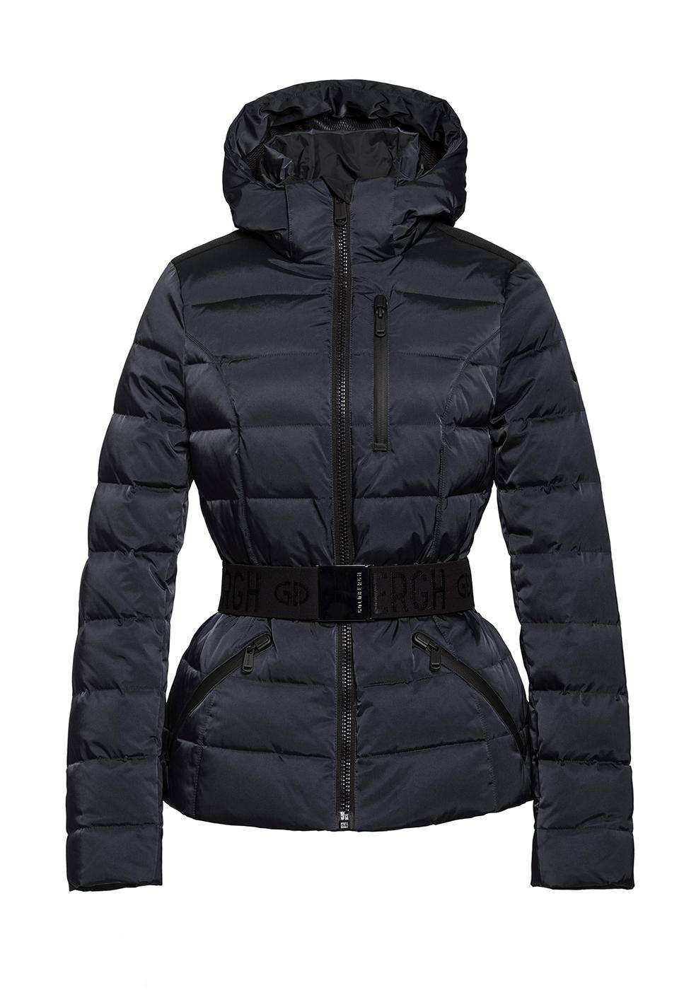 Soldis Downfilled Black Ski Jacket by Goldbergh