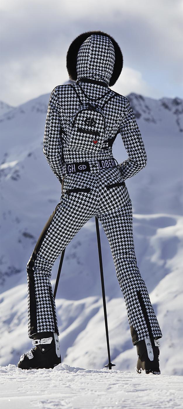 Goldbergh Glam Ski Suit with Hood