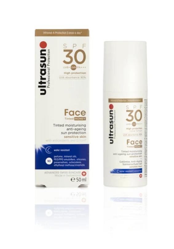 Ultrasun tinted sunscreen