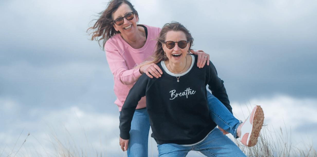 Breathe Womens Yoga Sweatshirt
