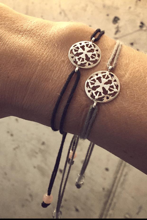 Emotional Stability and Letting Go - Black Onyx Bracelet & Meditation App