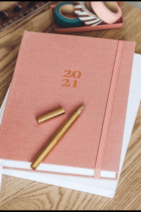 2021 Ready Gift Set Fabric Planner - Sunday Start