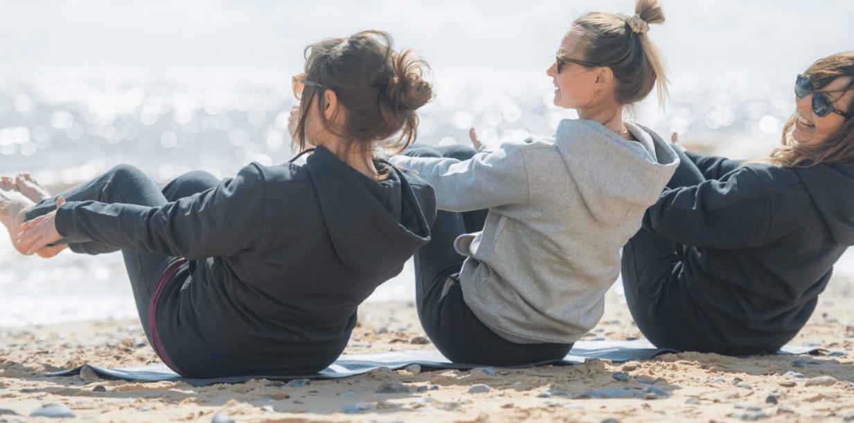 Image: Yoga Hoodies at YogaClicks
