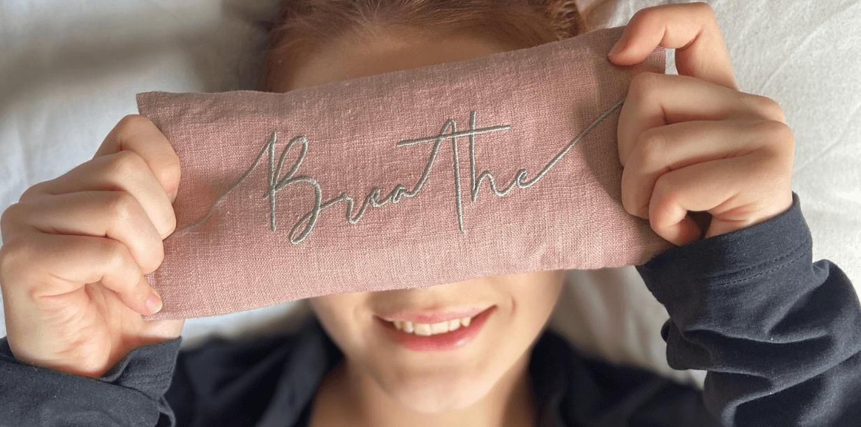 Breathe Lavender Eye Pillow
